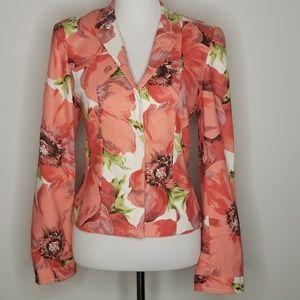 Carlisle size 14 Flowers Blazer Jacket